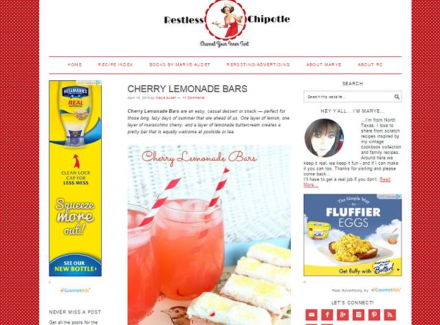 cherry lemonade bars
