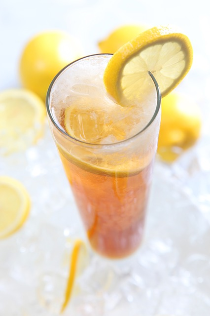 The Easiest Flavored Iced Tea You'll Ever Make – Sugar Free, Too!
