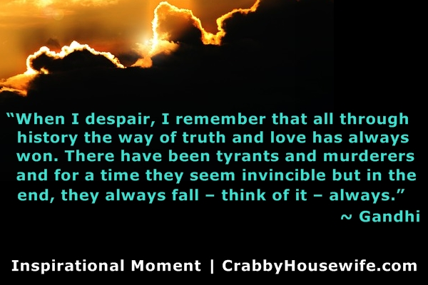 inspiring quote gandhi