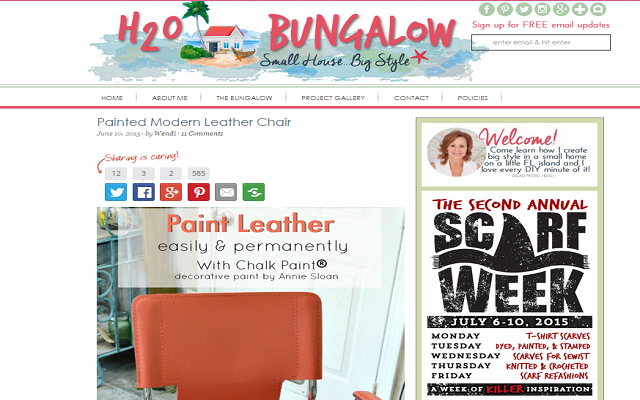 h20 bungalow screenshot