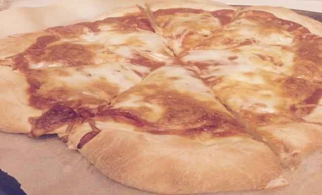 My Favorite Bread Machine Pizza Crust