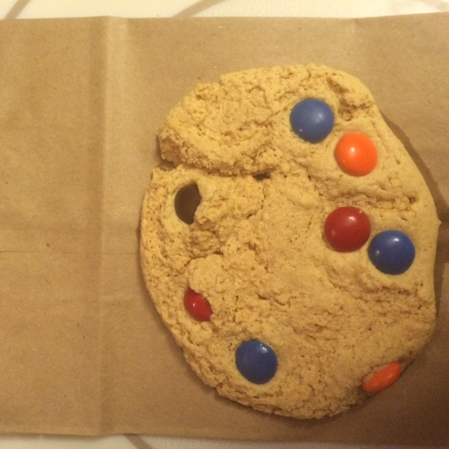 Brown Paper Bag Peanut Butter Protein Cookie
