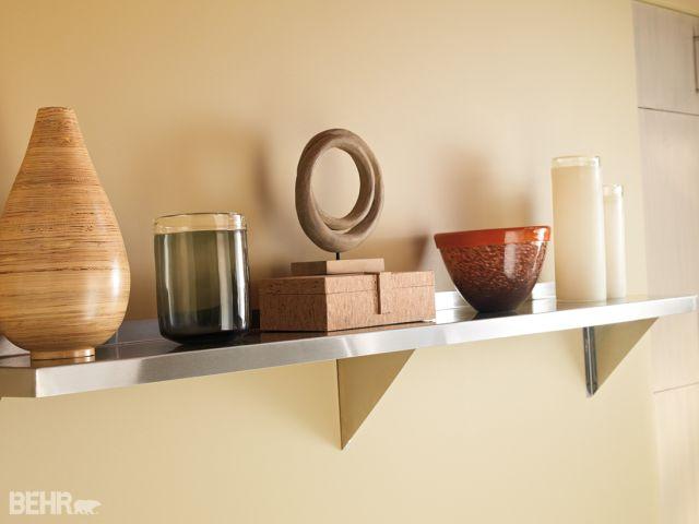 BEHR shelf
