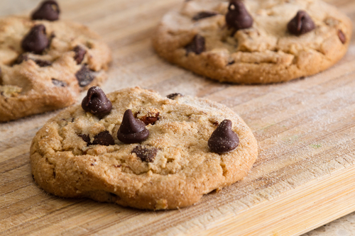 Salted Caramel Chip Cookie Low Carb & Gluten Free