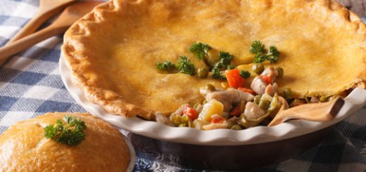 turkey leftovers pot pie