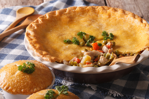 Use Turkey Leftovers for a Fast Pot Pie