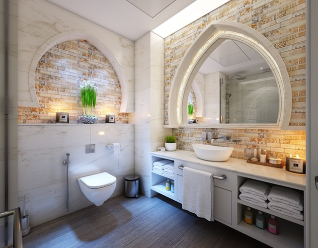 Stone, Brick or Tile Accent Wall