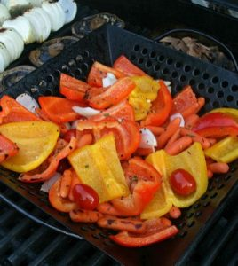 Mouth Watering Grilled Peppers