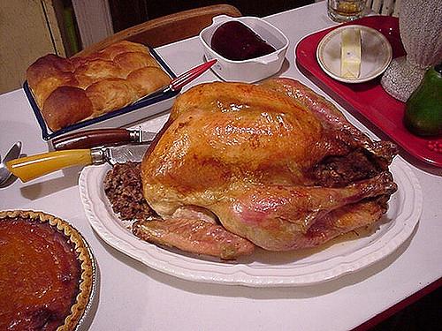 Making Turkey Stock Recipe