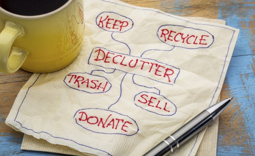 Day 1: Decluttering Disaster