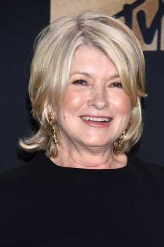 martha stewart at an awards show.