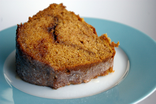 Light Glazed Pumpkin Cake