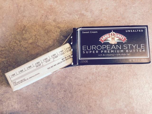 euro butter