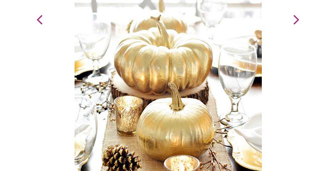 golden pumpkins