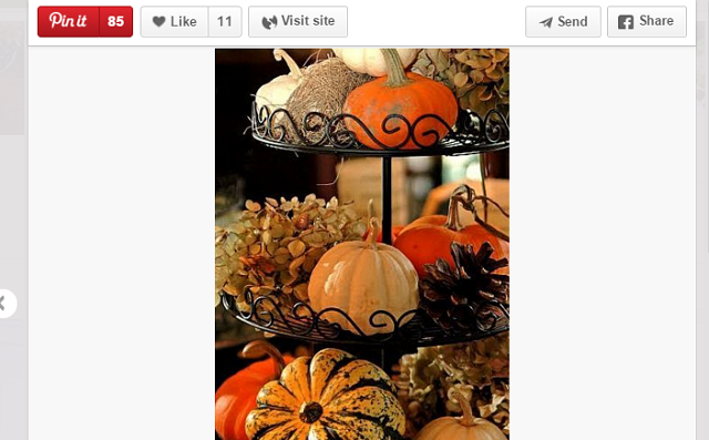 tiered thanksgiving centerpiece