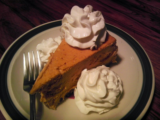 whipped pumpkin pie