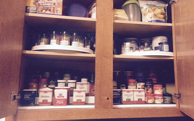 Organizing Your Spice Cabinet – Step # 3