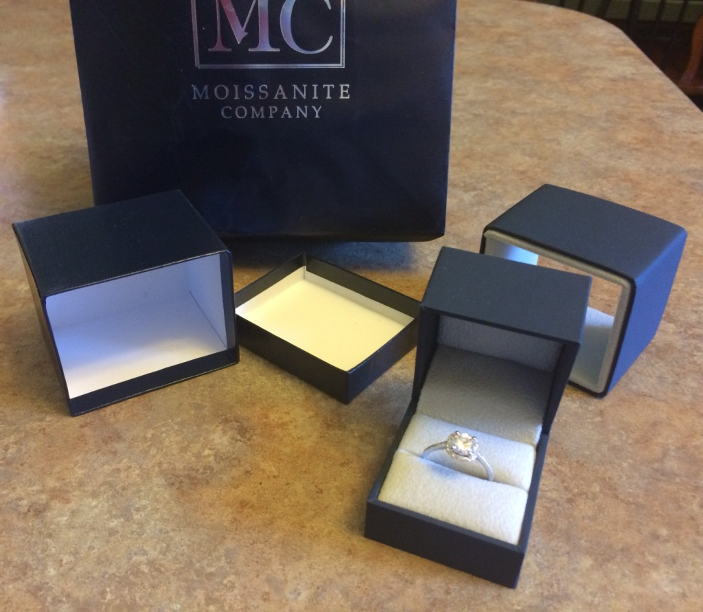 Review of MoissaniteCo and My Budget Wedding Ring