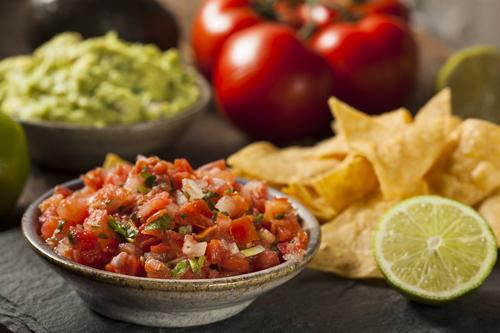 Roma Tomatoes Simple Salsa