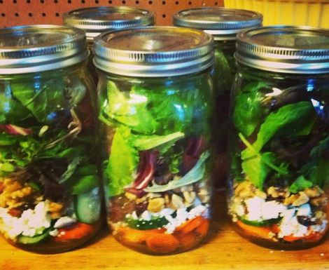 Salads in a Jar Save You Money