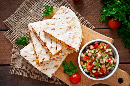 Ooey Gooey Food Truck Chicken Quesadilla Recipe