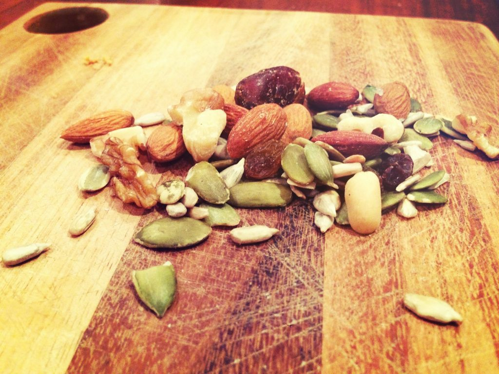 trail mix nuts