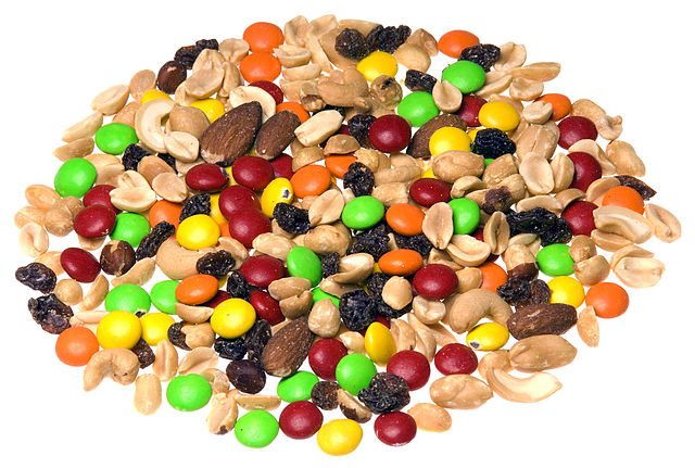 trail mix candy