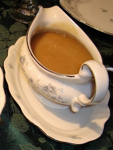 perfect turkey drippings gravy boat