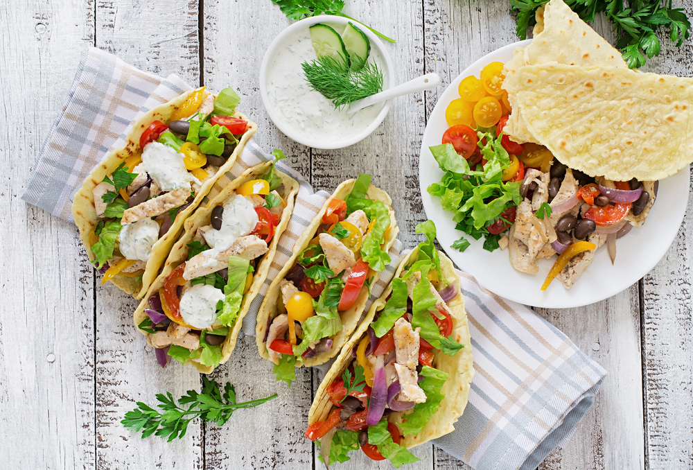Cheap Instant Pot Chicken Tacos Meal