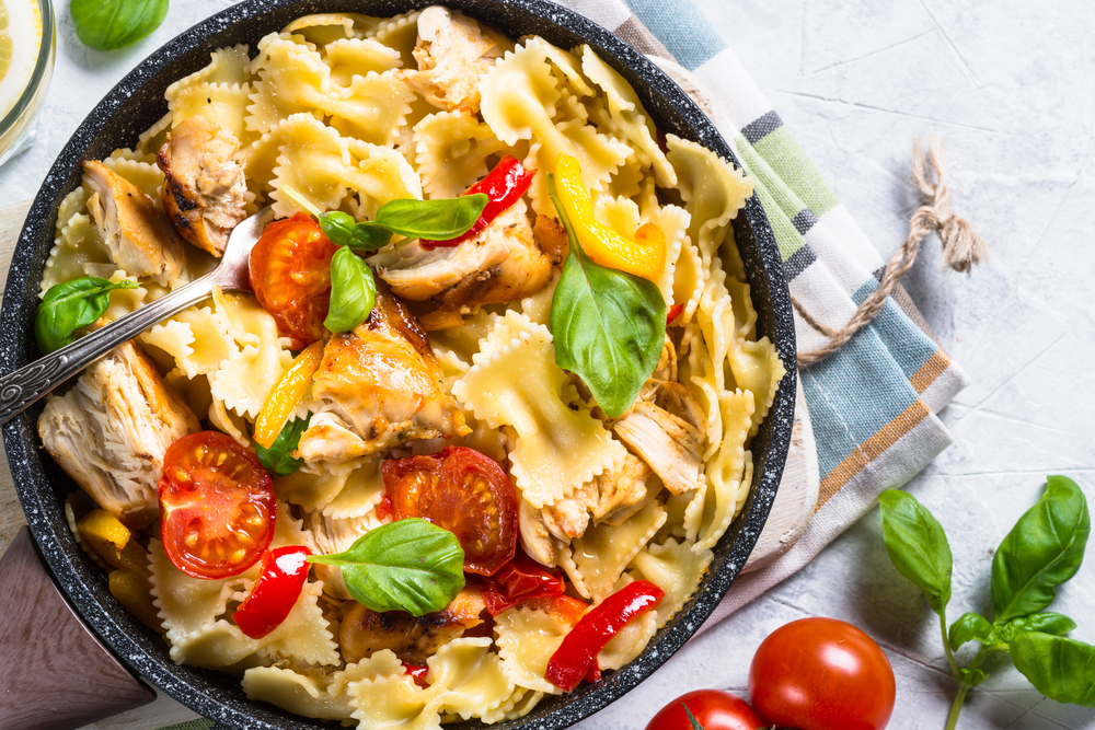 skillet dinners pasta and chicken